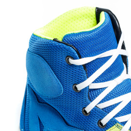 YORK AIR SHOES PERFORMANCE-BLUE/FLUO-YELLOW- Textil