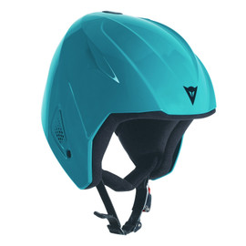 SNOW TEAM JR EVO HELMET - KID BRIGHT-AQUA- Caschi