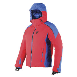 ALTA ZERO D-DRY® JACKET FIRE-RED/NAUTICAL-BLUE/BLACK