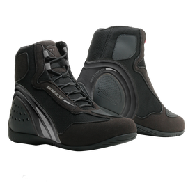 MOTORSHOE D1 AIR LADY BLACK/BLACK/ANTHRACITE- Leder