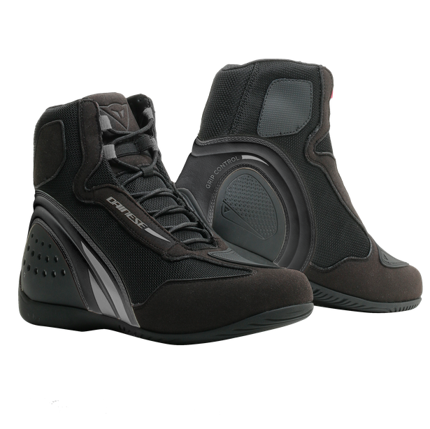 MOTORSHOE D1 AIR LADY BLACK/BLACK/ANTHRACITE- Pelle