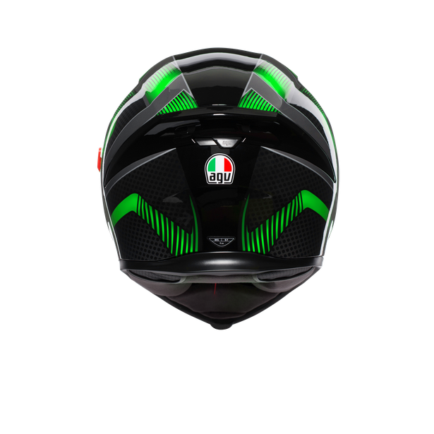 K-5 S MULTI ECE DOT - HURRICANE 2.0 BLACK/GREEN - K-5 S