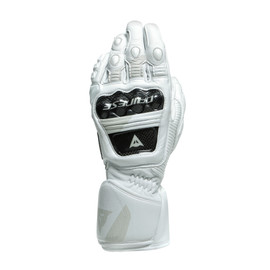 DRUID 3 GLOVES WHITE- Leder