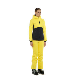 HP ROLLER WMN VIBRANT-YELLOW/STRETCH-LIMO/LILY-WHITE- Women Winter Jackets