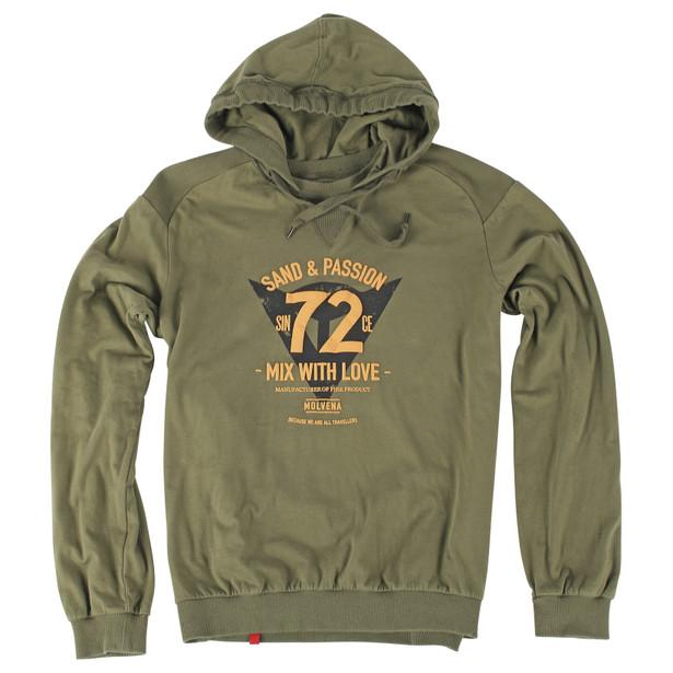 FELPA 72&PASSION ARMY-GREEN- T-Shirts