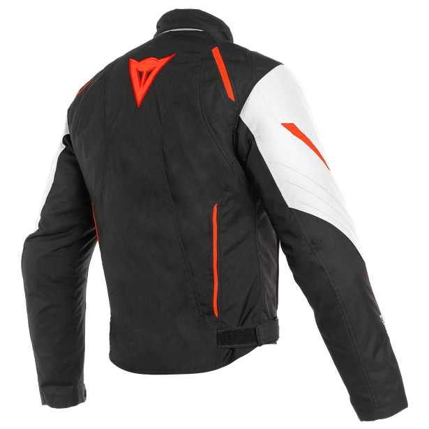 LAGUNA SECA 3 D-DRY® JACKET WHITE/FLUO-RED/BLACK- D-Dry®