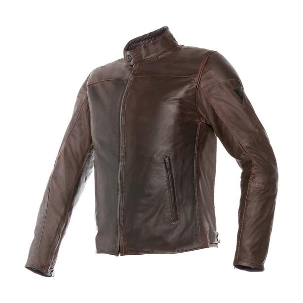 MIKE PELLE DARK BROWN- Leather
