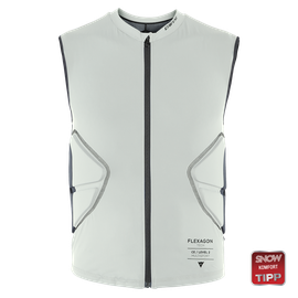 FLEXAGON WAISTCOAT MAN PURITAN-GRAY/STRETCH-LIMO- Ski protecciones