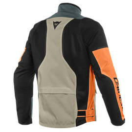 AIR TOURER TEX JACKET FROST-GRAY/FLAME-ORANGE/BLACK- Tissus