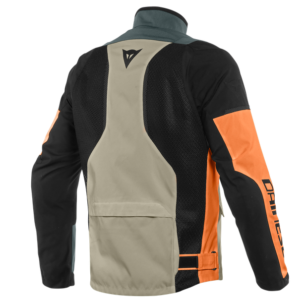 AIR TOURER TEX JACKET FROST-GRAY/FLAME-ORANGE/BLACK- Textile