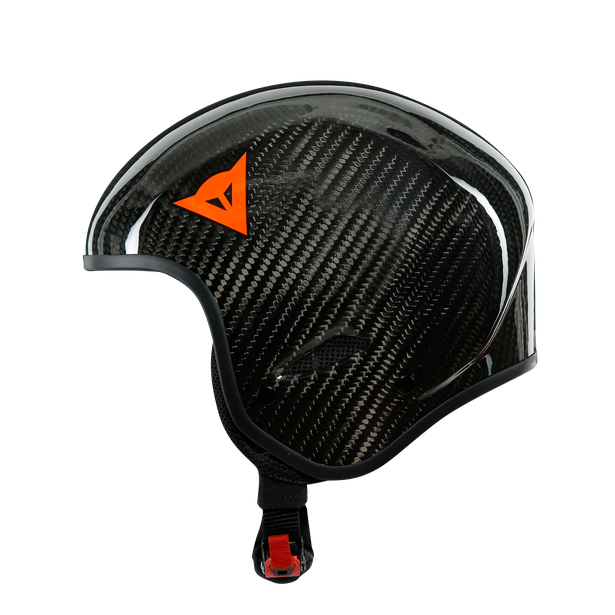 GT CARBON WC HELMET CARBON/RED-LOGO- Helmets