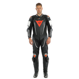 MISANO 2 D-AIR PERF. 1PC SUIT BLACK/BLACK/WHITE- Professionnelles