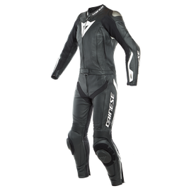 AVRO LADY D-AIR 2PCS SUIT BLACK/BLACK/WHITE