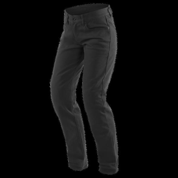 CASUAL REGULAR LADY TEX PANTS BLACK- Women