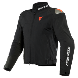 INDOMITA D-DRY XT JACKET BLACK-MATT/BLACK-MATT/FLUO-RED