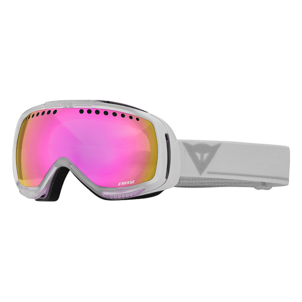VISION AIR GOGGLES WHITE/ML PINK (M 6070)- Goggles