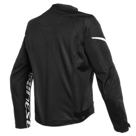 BORA AIR TEX JACKET BLACK/WHITE- Textil