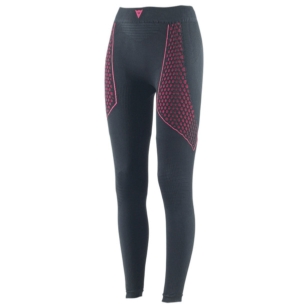 D-CORE THERMO PANT LL LADY BLACK/FUCHSIA- Pants