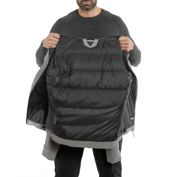 SKI DOWNJACKET MAN 2.0 CHARCOAL-GRAY- Downjackets
