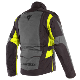 X-TOURER D-DRY JACKET EBONY/BLACK/FLUO-YELLOW- D-Dry®