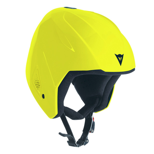 SNOW TEAM JR EVO HELMET - KID VIBRANT-YELLOW- Sonderangebote Ski