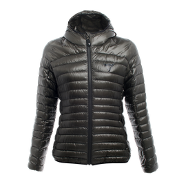 PACKABLE DOWNJACKET LADY GUN-METAL- Downjackets