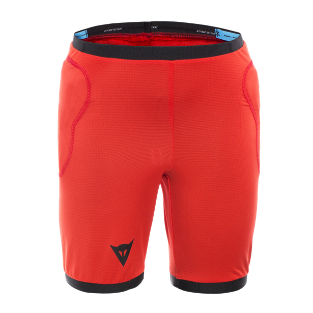 SCARABEO SAFETY SHORTS BLACK/RED- Protezioni