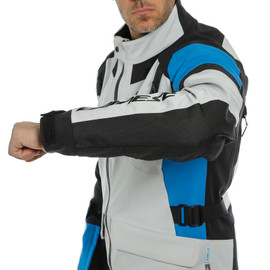 TONALE D-DRY JACKET GLACIER-GRAY/PERFORMANCE-BLUE/BLACK- D-Dry®