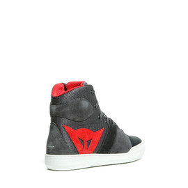 YORK AIR SHOES PHANTOM/RED- Textil