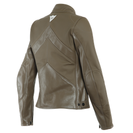 SANTA MONICA LADY LEATHER JACKET PERF. LIGHT-BROWN- Women Jackets