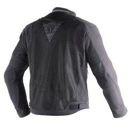 AIR FLUX D1 TEX JACKET BLACK/BLACK- Textil