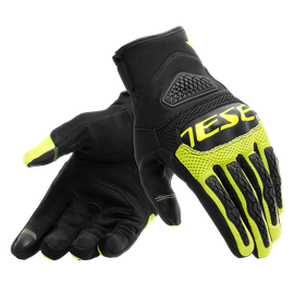 BORA GLOVES BLACK/FLUO-YELLOW- Tissus