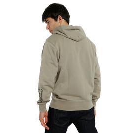 ADVENTURE FULL-ZIP HOODIE GOAT/BLACK- Casual Wear