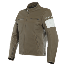 SAN DIEGO LEATHER JACKET PERF. LIGHT-BROWN- undefined