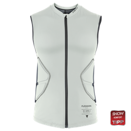 FLEXAGON WAISTCOAT WOMAN PURITAN-GRAY/STRETCH-LIMO- Ski protecciones