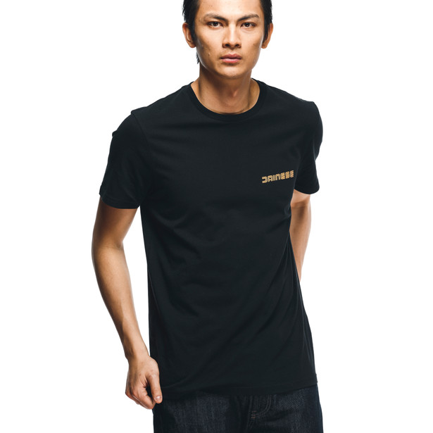 HATCH T-SHIRT BLACK/ORANGE- Lifestyle