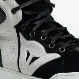 ATIPICA AIR SHOES BLACK/WHITE- Tessuto