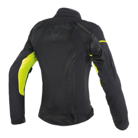 AIR FRAME D1 LADY TEX JACKET BLACK/BLACK/YELLOW-FLUO- Textile