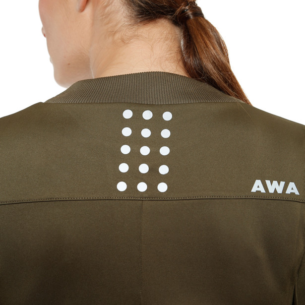 AWA BLACK SOFT FLEECE WMN - Camisetas