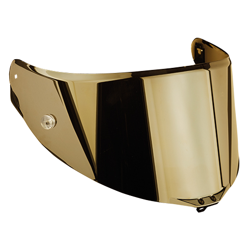 Visor RACE 2 IRIDIUM GOLD - Accessori