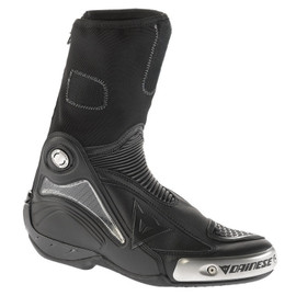 R AXIAL PRO IN BOOTS BLACK/BLACK- Pelle