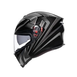 K-5 S E2205 MULTI - HURRICANE 2.0 BLACK/SILVER - Full-face
