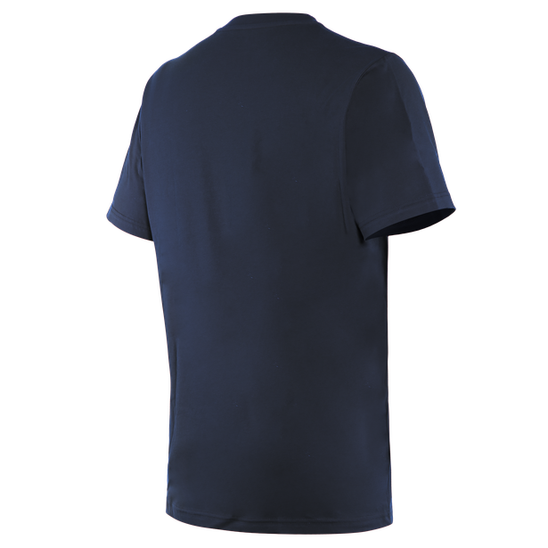 T-SHIRT PADDOCK LONG  BLACK-IRIS/WHITE- Casual Wear