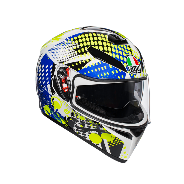 K-3 SV E2205 MULTI - POP WHITE/BLUE/LIME - Intégral