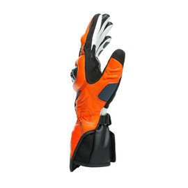 CARBON 3 LONG GLOVES BLACK-IRIS/FLAME-ORANGE/FLUO-RED- Gloves