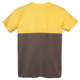 DUNES T-SHIRT MOREL/OLD-GOLD- Dunes