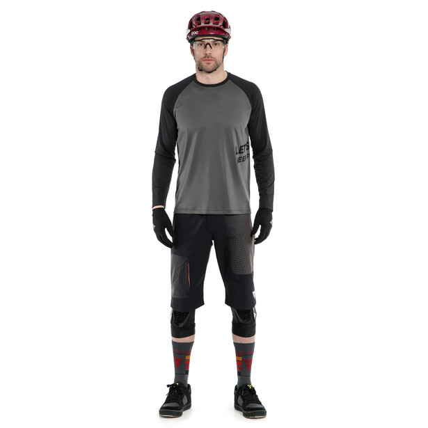 HG GRYFINO SHORTS BLACK/DARK-GRAY- Bike fur ihn