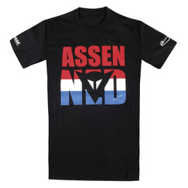 ASSEN D1 T-SHIRT BLACK
