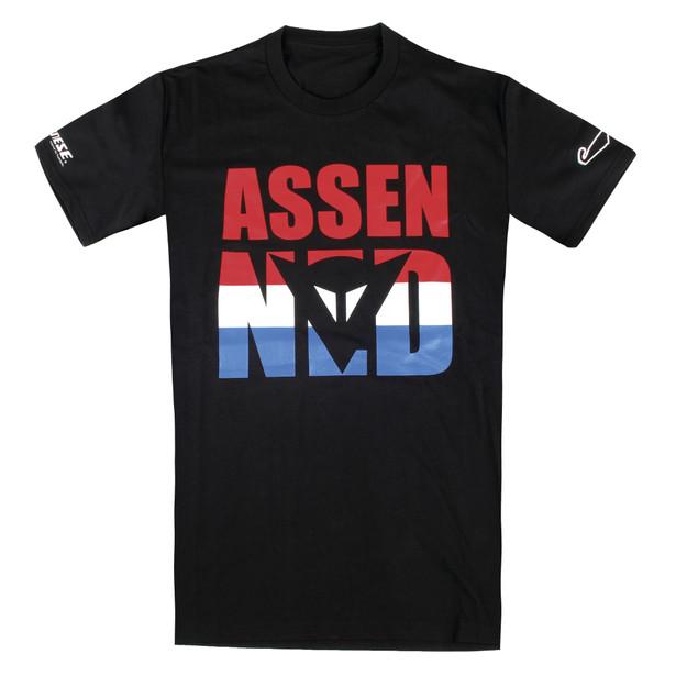 ASSEN D1 T-SHIRT BLACK- undefined