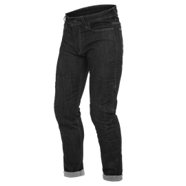 DENIM SLIM TEX PANTS BLACK